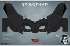 The Dark Knight Creases: Fold Your Own Batman, Bane, and Catwoman Masks -- Vulture