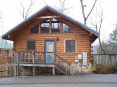 BLUE MOUNTAIN VIEW  sleeps 4 and has a lot to offer as a getaway for couples or small family. This studio cabin has two floors, each with a deck with views. There is a hot tub on the lower deck and the lower floor has  a pool table, TV, DVD & VCR players, a sleeper sofa and fireplace as well as a bath and the washer and dryer.  The entrance level is a large room featuring a king size bed, fireplace, Jacuzzi, and TV, DVD & VCR players plus a full kitchen and seating for 4.