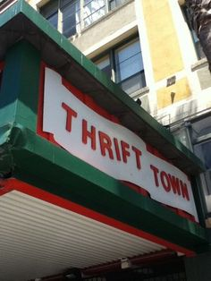 Thrift Town, Mission District, San Francisco