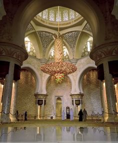 Oh please, click through to watch this stunning video showing Sheikh Zayed Grand Mosque in Abu Dhabi, United Arab Emirates.
