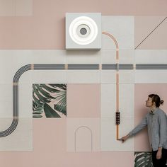 UM project's conductive wallpaper hardwires your home from the outside in