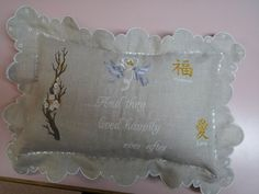 engagementwedding gift with Chinese designs doves by IlNostroNido, $42.00
