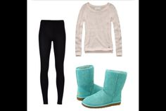 Looks so comfy love the Tiffany blue uggs!!