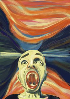 """Check out my @Behance project: """"#MunchContest / Adobe Contest - The 5th Scream"""" https://www.behance.net/gallery/54709841/MunchContest-Adobe-Contest-The-5th-Scream"""