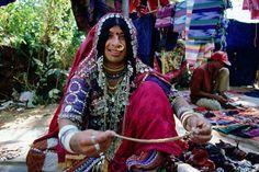 Karnataka tribal woman's, Anjuna, Goa