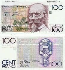 Afbeeldingsresultaat voor oude belgische bankbiljetten
