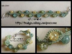 Macramé bracelet pattern tutorial