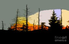 pam lee back painted glass | The Stained Glass Forest Painting