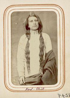 Red Shirt. He's an Oglala Lakota.