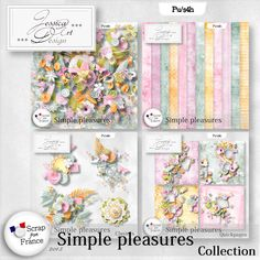 "Simple Pleasures from Jessica Art Design at From France on a 40% off Sale.! Don't miss to ""subscribe to the designer"" to follow all the releases of your favorite designer (click on the left button ...near ""add to cart""). Simple Pleasures; http://scrapfromfrance.fr/shop/index.php?main_page=advanced_search_result&keyword=Simple+pleasures&search_in_description=1&categories_id=&inc_subcat=1&manufacturers_id=99&pfrom=&pto=&dfrom=&dto=&x=19&y=5. 07/13/2015"
