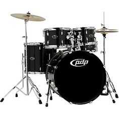 PDP CENTERstage 5-piece Drum Set with Hardware and Cymbals | Guitar Center COLOR RUBY