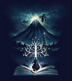 Book of Magic and Adventures by dandingeroz _ instagram