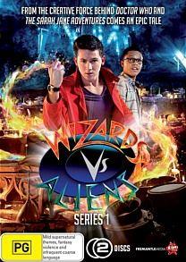 Wizards Vs Aliens Series 1 DVD GIVEAWAY