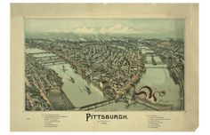 Matthew Buchholz, Alternate Histories, View of Pittsburgh circa 1902