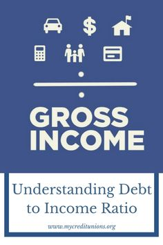 Debt to Income Ratio is the percentage of a consumer's monthly gross income that goes toward paying debts. The ratio is determined by calculating the debts that you owe on car payments, credit cards and other loans against your annual income. Pay Debt, Debt Payoff, Debt To Income Ratio, National Debt Relief, Debt Relief Companies, Payday Loans, Money Saving Tips, Money Tips, Helping People