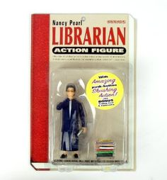 Nancy Pearl Librarian Action Figure:Amazon:Toys & Games