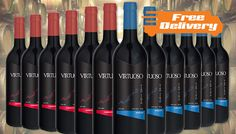 Buy 12 Bottles of Mixed Virtuoso Wine - Free Delivery! UK deal for just: £38.99 Delight your senses with 12 Bottles of Mixed Virtuoso Wine      Premium quality vintage box set of rich red wines      Features 6 x bottles Merlot Virtuoso 2015 and 6 x bottles Cabernet Sauvignon Virtuoso 2015      See Full Details for Tasting Notes      Luxury gift idea for wine lovers and foodies     ...