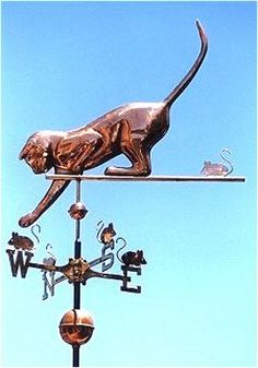 Liking this weather vane copper so it would verdi gris to beat the