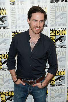 SAN DIEGO, CA - JULY 11: Actor Colin O'Donoghue attends the 'Once Upon A Time' press room during Comic-Con International 2015 at the Hilton Bayfront on July 11, 2015 in San Diego, California