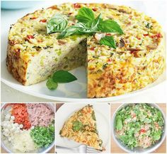 Tuna and Rice Bake