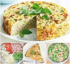 Tuna and Rice Bake
