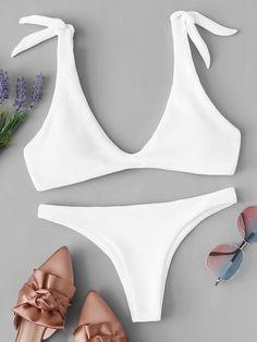 2020 Women Swimsuits Bikini Bather Swim Trunks String Swimsuit One Piece Brazilian Underwear Women'S Swim Bottoms Flattering Swimsuits, Cute Swimsuits, Two Piece Swimsuits, Women Swimsuits, Two Piece Bikini, Bikini Set, Bikini Swimwear, Bandeau Bikini, Bikini Girls