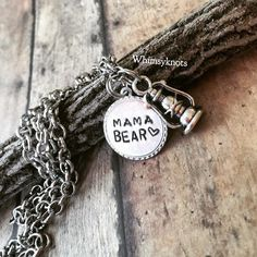 A personal favorite from my Etsy shop https://www.etsy.com/listing/289658769/mama-bear-necklace-mama-bear-jewelry