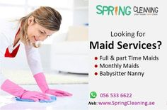 Deep Cleaning Services, House Maid, Residential Cleaning, Babysitting, How To Clean Carpet, Spring Cleaning, Housekeeping, Clean House, Dubai