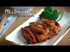 Receta de Pollo Teriyaki - Chicken Teriyaki Recipe l Kwan Homsai - YouTube