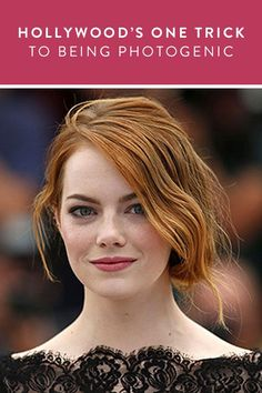 Hollywood's+One+Trick+to+Being+Photogenic+via+@PureWow