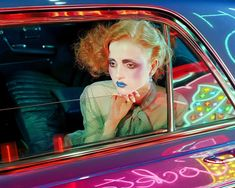 "Madison Stubbington for ""Beauty"" / photograph by @milesaldridge / Vogue Italia September 2015 vía RebelBomb"
