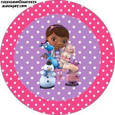 Dr. McStuffins Temalı Ücretsiz Parti Seti - Neşeli Süs Evim - Ücretsiz Doğum Günü Süsleri Doc Mcstuffins, Tangled Birthday, Tangled Rapunzel, Barbie Party, Disney, Diy Party, Party Ideas, Scrap, Printables