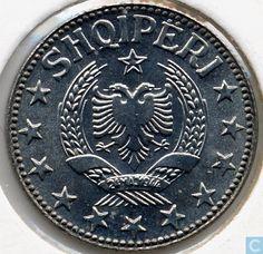 Coins - Albania - Albania ½ leku 1957