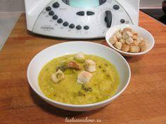 Receta de crema de brócoli y zanahoria con Thermomix, receta rápida y sana.