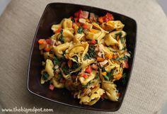 Balsamic Chicken and Tortellini