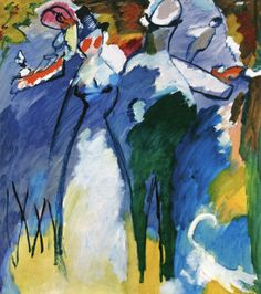 The Athenaeum - Impression VI (Sunday) (Wassily Kandinsky - 1911