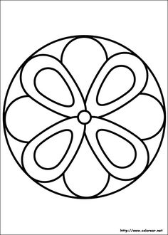 easy simple mandala 63 coloring pages printable and coloring book to print for free. Find more coloring pages online for kids and adults of easy simple mandala 63 coloring pages to print. Mandala Design, Mandala Art, Mandala Nature, Simple Mandala, Mandalas Drawing, Mandala Coloring Pages, Mandala Painting, Stencil Painting, Mandala Pattern