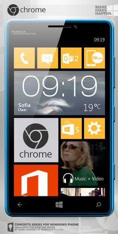 [Concept] Google Chrome for Windows Phone