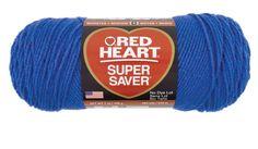 Blue Super Saver Economy Yarn   Red Heart