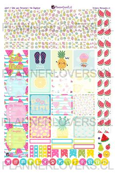 ESPECIAL VERANO: Welcome here, Summer! – Stickers Impribles