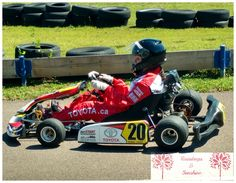 Last year my daughter participated in the Toyota kartSTART driver education Use the code KSraindrops  at kartSTART and save $20 off the Regular Price of $79 program. It's a unique family driving education program, that is designed to