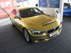 Cars & Life: Goodwood Festival of Speed: BMW Gold Olympics Car 320d