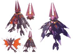 Devilbat Schilt Concept - Characters & Art - Mega Man Zero 3