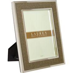 """Ralph Lauren"" Knotting Hill Picture Frame - TK Maxx"