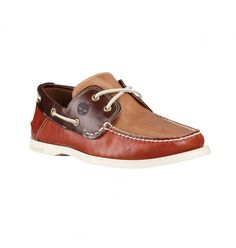 Soldes - Timberland A13IN - Heritage 2-Eye Boat Homme