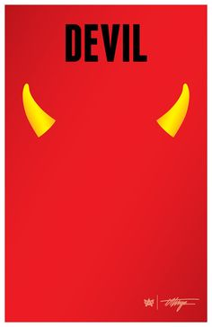 """Can be printed and hung so a person's photo can be taken with devil horns and the tag, """"Devil"""" above their head. Horns, Devil, Posters, Printed, Digital, Etsy, Scale, Horn, Poster"""