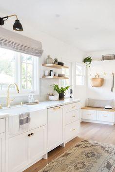 Coastal Style Hamptons Style Kitchen Makeover Kitchen
