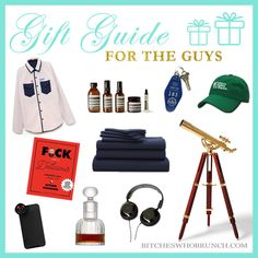Holiday Gift Guide 2017: For the Guys