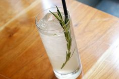 Rosemary Lavender. I'm thinking this is going to become my summery drink for 2011.