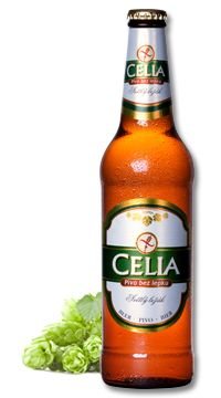 CELIA – gluten free beer - whose mission is to give pleasant experience of drinking beer the people, for whom the beer was until now almost forbidden chamber. CELIA is a light lager, that is made by using unique patented way, which preserves the typical taste of Czech lager and enables its consumption for people, suffering from celiac disease, who can´t drink the common types of beers. Gluten Free Alcohol, Gluten Free Beer, Czech Beer, Malt Beer, Beer Brands, Brew Pub, Beer Brewing, Brewery, Beer Bottles